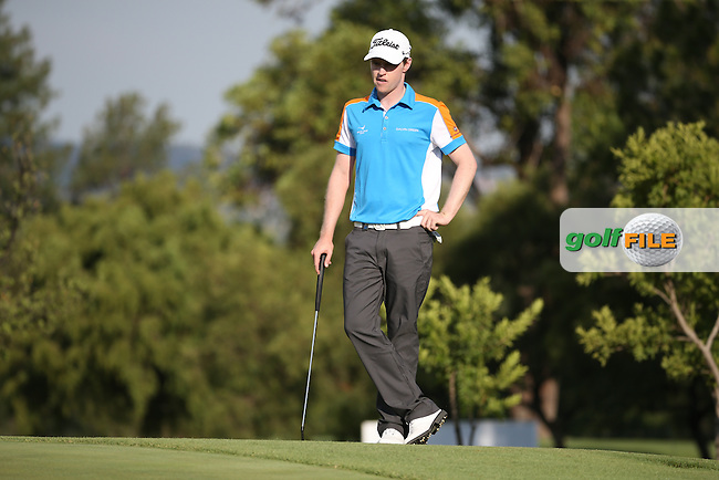 Kevin Phelan (IRL) carded a 73 during Round One of the 2016 Tshwane Open, played at the Pretoria Country Club, Waterkloof, Pretoria, South Africa.  11/02/2016. Picture: Golffile | David Lloyd<br /> <br /> All photos usage must carry mandatory copyright credit (&copy; Golffile | David Lloyd)