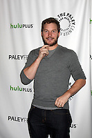 "LOS ANGELES - MAR 6:  Chris Pratt arrives at the ""Parks and Recreation"" Panel at PaleyFest 2012 at the Saban Theater on March 6, 2012 in Los Angeles, CA"