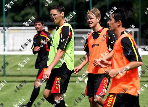 2010-06-14 / Voetbal / seizoen 2010-2011 / Eerste trainingsdag KV Mechelen / Jonas Ivens..Foto: mpics