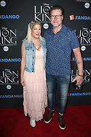 05 August 2017 - Los Angeles, California - Tori Spelling, Dean McDermott. &quot;The Lion King&quot; Sing-Along Screening. <br /> CAP/ADM/FS<br /> &copy;FS/ADM/Capital Pictures