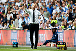 Reading manager Jaap Stam shouts during the SkyBet Championship Play Off Final match at the Wembley Stadium, England. Picture date: May 29th, 2017.Picture credit should read: Matt McNulty/Sportimage