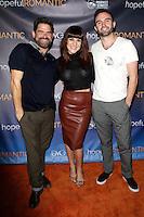 LOS ANGELES - NOV 9: Shoshana Bean, Matt Zarley, Jeb Havens at the special screening of Matt Zarley's 'hopefulROMANTIC' at the American Film Institute on November 9, 2014 in Los Angeles, California