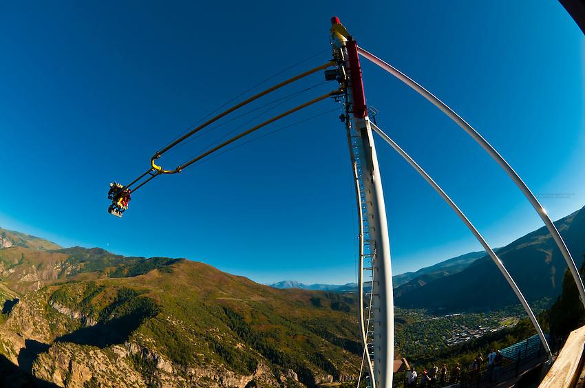 Giant Canyon Swing 1 300 Feet Above The Colorado River