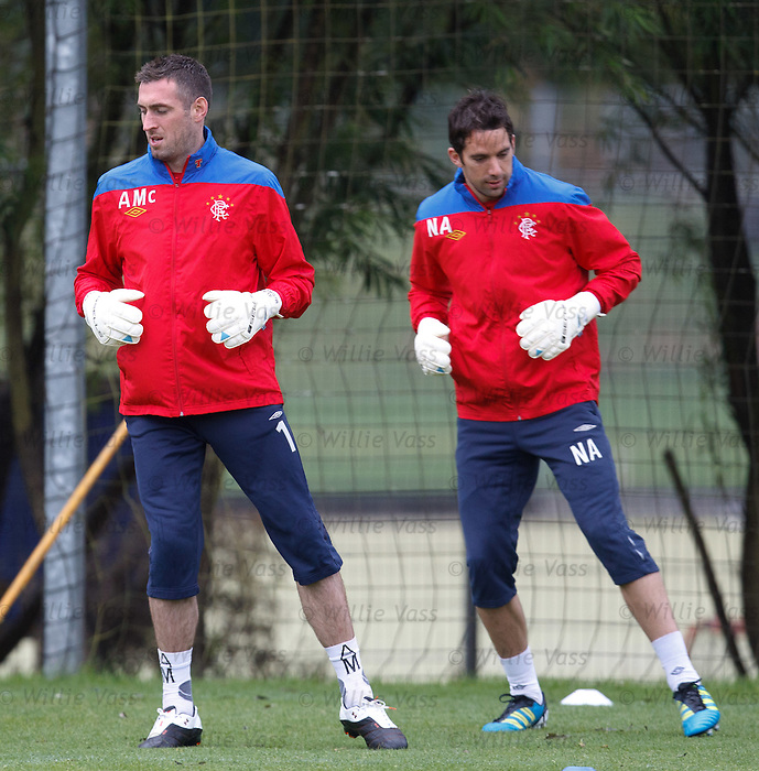 Allan McGregor and Neil Alexander