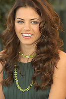 "JENNA DEWAN.Photocall for ""Stp Up"", Hotel Eden, Rome, Italy..December 15th, 2006.headshot portrait green necklace.CAP/CAV.©Luca Cavallari/Capital Pictures"