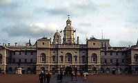 London: Horse Guards Parade Frontage, Whitehall. William Kent (1685-1748), 1750-59.