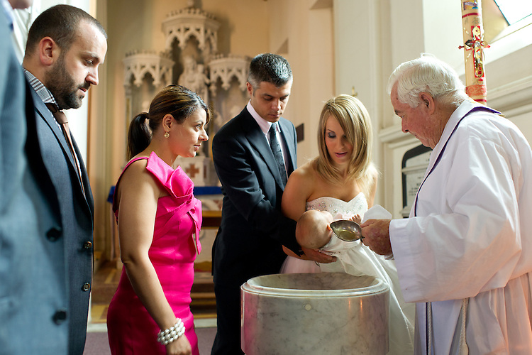 Charlotte Di Blasio Christening on the 8th January 2012.