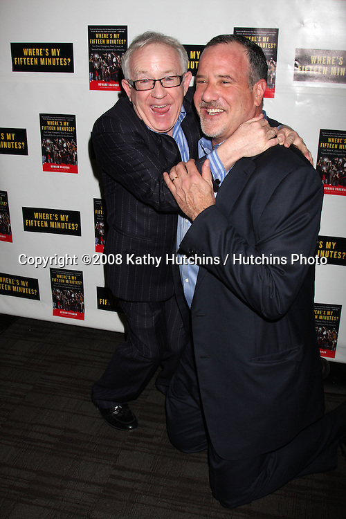 """Leslie Jordan & Howard Bragman.Howard Bragman's Book Party for """"Where's My Fifteen Minutes"""" at the Chateau Marmont Hotel in West Los Angeles, CA on .January 14, 2009.©2008 Kathy Hutchins / Hutchins Photo..                ."""