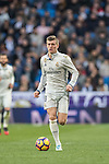 Toni Kroos of Real Madrid in action during their La Liga 2016-17 match between Real Madrid and Malaga CF at the Estadio Santiago Bernabéu on 21 January 2017 in Madrid, Spain. Photo by Diego Gonzalez Souto / Power Sport Images