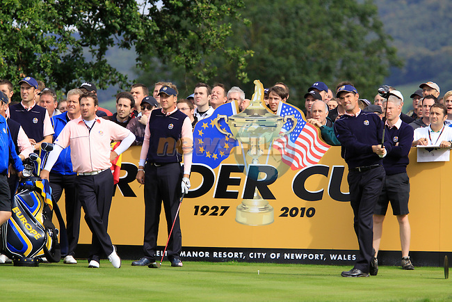 Thursday Practice day at the 2010 Ryder Cup, Celtic Manor, Newport, Wales, Thursday 30th September 2010..(Picture Manus O'Reilly/www.golffile.ie)