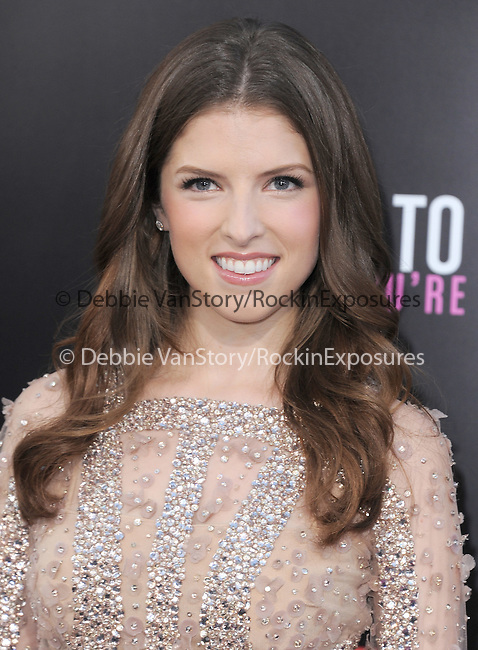 Anna Kendrick at Lionsgate L.A. Premiere of  What to Expect When You're Expecting held at The Grauman's Chinese Theatre in Hollywood, California on May 14,2012                                                                               © 2012 Hollywood Press Agency