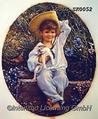 CHILDREN, KINDER, NIÑOS, paintings+++++,USLGSK0052,#K#, EVERYDAY ,Sandra Kock, victorian