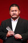 "Hirobumi Watanabe, November 05, 2019 - Hirobumi Watanabe, speak after winning ""Japanese Cinema Splash Best Director Award"" for the film ""Cry""during the 32nd Tokyo International Film Festival, award ceremony, in Tokyo, Japan on November 05, 2019. (Photo by 2019 TIFF/AFLO)"