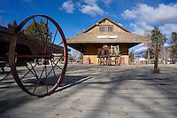 Laws Railroad Museum in Bishop California
