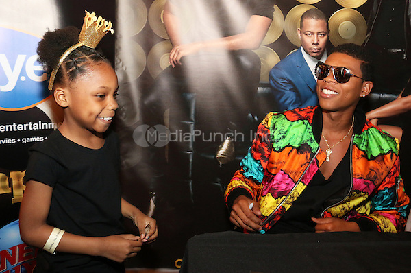NEW YORK, NY - MAY 14, 2016 Yazz poses and takes pics with fans at the Empire Season 2 release cd signing at Planet Hollywood, May 14, 2016. Photo Credit: Jamel Johnson / Media Punch