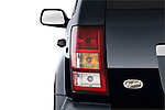 Tail light close up detail view of a 2009 Jeep Grand Cherokee 5 Door