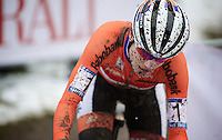 Marianne Vos (NLD/Rabo-Liv)<br /> <br /> Elite Women's Race<br /> <br /> 2015 UCI World Championships Cyclocross <br /> Tabor, Czech Republic
