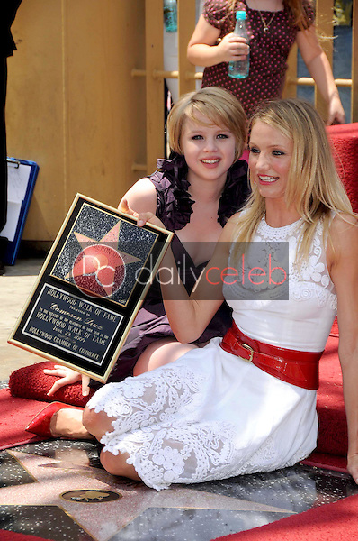 Sofia Vassilieva and Cameron Diaz<br />
