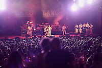 The Argentiniean Band  Illya Kuryaki & The Valderramas performs at Prospect Park in Brooklyn New York on July 10, 2014 in New York City. Kena BetancurVIEWpress