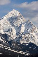 Europe/Italie/Vénétie/Dolomites/Cortina d'Ampezzo : Massif des Dolomites  le Mont Antelao