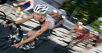 03 SEP 2006 - LAUSANNE, SWITZERLAND - Youri Severin (NED) - under 23 Mens World Triathlon Championships. (PHOTO (C) NIGEL FARROW)