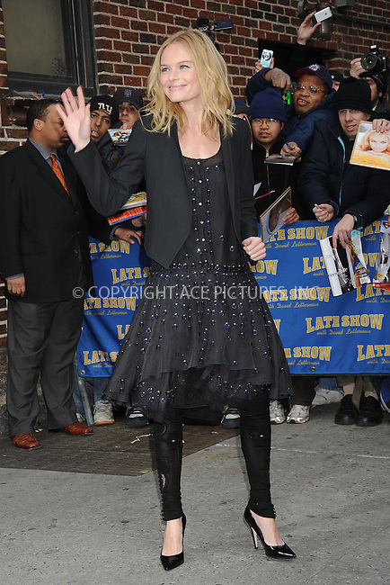 WWW.ACEPIXS.COM . . . . .  ....March 25 2008, New York City....Actress Kate Bosworth made an appearance on the 'Late Show with David Letterman' at the Ed Sullivan Theatre in midtown Manhattan....Please byline: KRISTIN CALLAHAN - ACEPIXS.COM.... *** ***..Ace Pictures, Inc:  ..te: (646) 769 0430..e-mail: info@acepixs.com..web: http://www.acepixs.com