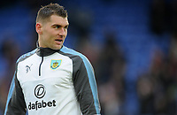 Burnley's Sam Vokes during the pre-match warm-up <br /> <br /> Photographer Ashley Crowden/CameraSport<br /> <br /> The Premier League - Crystal Palace v Burnley - Saturday 13th January 2018 - Selhurst Park - London<br /> <br /> World Copyright &copy; 2018 CameraSport. All rights reserved. 43 Linden Ave. Countesthorpe. Leicester. England. LE8 5PG - Tel: +44 (0) 116 277 4147 - admin@camerasport.com - www.camerasport.com