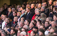 Prince Harry sings the national anthem<br /> <br /> Photographer Bob Bradford/CameraSport<br /> <br /> NatWest Six Nations Championship - England v Wales - Saturday 10th February 2018 - Twickenham Stadium - London<br /> <br /> World Copyright &copy; 2018 CameraSport. All rights reserved. 43 Linden Ave. Countesthorpe. Leicester. England. LE8 5PG - Tel: +44 (0) 116 277 4147 - admin@camerasport.com - www.camerasport.com