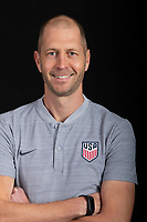 Columbus, OH - November 29, 2018. US Soccer Head Coach, Gregg Berhalter.