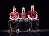 Bromance <br /> Barely Methodical Troupe Opening the London International Mime Festival <br /> at Platform Theatre, London, Great Britain <br /> press photocall <br /> 7th January 2015 <br /> <br /> <br /> <br /> <br /> <br /> Charlie Wheeller <br /> Beren d'Amico <br /> Louis Gift <br /> <br /> <br /> <br /> Photograph by Elliott Franks <br /> Image licensed to Elliott Franks Photography Services