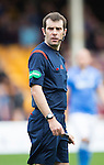 Motherwell v St Johnstone...30.08.14  SPFL<br /> Referee Alan Muir<br /> Picture by Graeme Hart.<br /> Copyright Perthshire Picture Agency<br /> Tel: 01738 623350  Mobile: 07990 594431