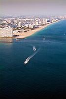 Aerial View Ft. Lauderdale, Port Everglades Florida