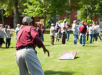 Staff Appreciation Day- food and games at the Junction<br />  (photo by Sarah Tewolde / &copy; Mississippi State University)