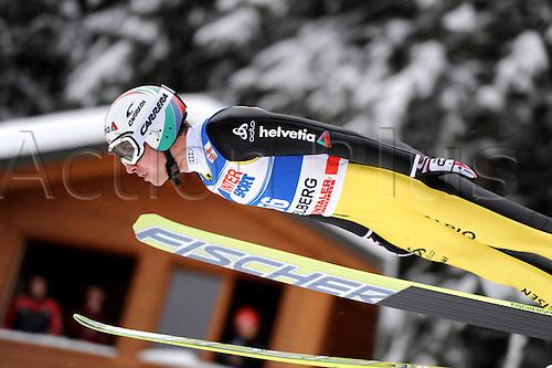17 12 2010 Ski Nordic FIS WC Engelberg Engelberg Switzerland 17 Dec 10 Ski Nordic Ski jumping FIS World Cup Picture shows Simon Ammann SUI