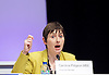Caroline Pidgeon MBE at the London Assembly participate in People's Question Time in Haringey on 19th March 2015 at the Dominion Centre,  Wood Green, London, Great Britain.<br /> <br /> Photograph by Elliott Franks <br /> <br /> <br /> Image licensed to Elliott Franks Photography Services