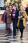 President of Liberia, Ellen Johnson-Sirleaf and the Queen Letizia of Spain attends the annual meeting of the Board of the Foundation for African women in Madrid, November 16, 2015.<br /> (ALTERPHOTOS/BorjaB.Hojas)