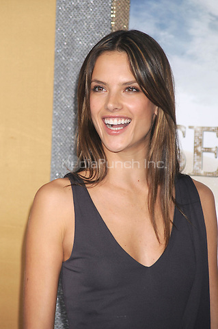Alessandra Ambrosio at the film premiere of 'Sex and the City 2' at Radio City Music Hall in New York City. May 24, 2010.Credit: Dennis Van Tine/MediaPunch