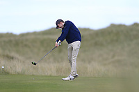 Hugh Foley (The Royal Dublin) during the 2nd round of the East of Ireland championship, Co Louth Golf Club, Baltray, Co Louth, Ireland. 03/06/2017<br /> Picture: Golffile | Fran Caffrey<br /> <br /> <br /> All photo usage must carry mandatory copyright credit (&copy; Golffile | Fran Caffrey)