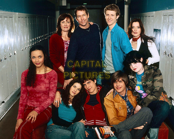 LISA DARR, D.B. SWEENEY, JON FOSTER, MARGUERITE MOREAU,  JESSICA LUCAS, MISSY PEREGRYM, CHRIS LOWELL & KELLY OSBOURNE.in Life as We Know It.*Editorial Use Only*.www.capitalpictures.com.sales@capitalpictures.com.Supplied by Capital Pictures.