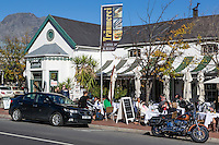 South Africa, Franschhoek.  Traumerei Coffee Shop and Restaurant.
