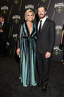 LAS VEGAS, NV - NOVEMBER 30: Martin Truex Jr. and Sherry Pollex arriving to the 2017 NASCAR Sprint Cup Awards at The Wynn Hotel & Casino in Las Vegas, Nevada on November 30, 2017. Credit: Damairs Carter/MediaPunch /NortePhoto NORTEPHOTOMEXICO