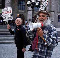 Photo d'archive des ''orpehelins de duplessis''<br /> <br /> <br /> PHOTO :  AGENCE QUEBEC PRESSE