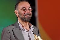 Pescara 14/07/2013: 40a Edizione del Film Festival Ennio Flaiano. In foto il regista Giuseppe Tornatore, ritira il Pegaso d'Oro. foto credit Adamo Di Loreto/BuenaVista*photo