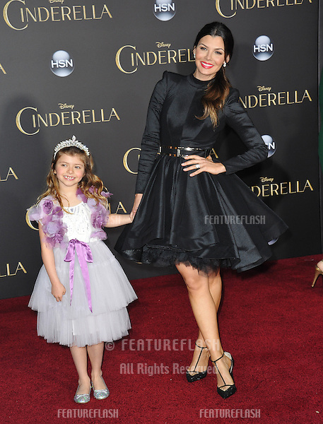 Ali Landry at the world premiere of &quot;Cinderella&quot; at the El Capitan Theatre, Hollywood.<br /> March 1, 2015  Los Angeles, CA<br /> Picture: Paul Smith / Featureflash