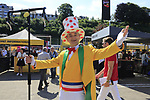 The Tour Village at sign on in Verviers before the start of Stage 3 of the 104th edition of the Tour de France 2017, running 212.5km from Verviers, Belgium to Longwy, France. 3rd July 2017.<br /> Picture: Eoin Clarke | Cyclefile<br /> <br /> <br /> All photos usage must carry mandatory copyright credit (&copy; Cyclefile | Eoin Clarke)