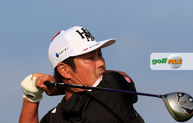Hideto Tanihara (JPN) tees off the 12th tee during Thursday's Round 1 of the 2016 U.S. Open Championship held at Oakmont Country Club, Oakmont, Pittsburgh, Pennsylvania, United States of America. 16th June 2016.<br /> Picture: Eoin Clarke | Golffile<br /> <br /> <br /> All photos usage must carry mandatory copyright credit (&copy; Golffile | Eoin Clarke)
