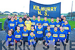 The Kilmurray school team who competed in the three teacher final of Cummann na mBunscoil in Lewis Road Killarney on Monday were Dean Talbot, Mark O'Donoghue, Maisie McCarthy, Sean Walsh, Jack McAulliffe, Padraig Brosnan, Therese Healy, Jack Flynn, Dj Feally, Ronan Walsh, Katie Flynn, Jason Cronin, Dylan O'Donoghue, Kieran O'Donoghue, Padraig Fitzmaurice, Kieran Enright, Cathal O'Donoghue, Padraig Flynn, Meave Kearney, James Cullinane with Therese Kearney, Thade O'Donoghue and John Clifford.