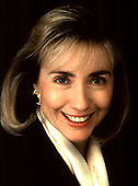 """Washington,  DC - (FILE) -- """"Official"""" Portrait of First Lady Hillary Rodham Clinton..Credit: White House via CNP"""
