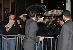 Eric McCormack.exiting the Stager Door after  the Broadway Opening Night Performance of 'Gore Vidal's The Best Man' at the Gerald Schoenfeld Theatre in New York City on 4/1/2012