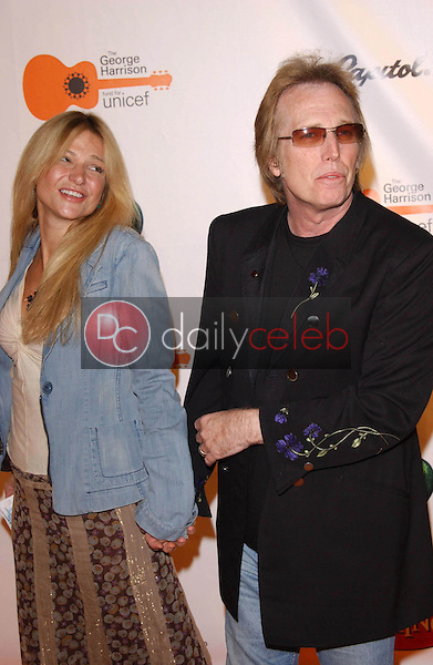 Tom Petty and wife Dana<br /> at the Concert for Bangladesh Revisited with George Harrison and Friends Documentary Gala, Warner Bros Studio, Burbank, CA 10-19-05<br /> David Edwards/DailyCeleb.Com 818-249-4998